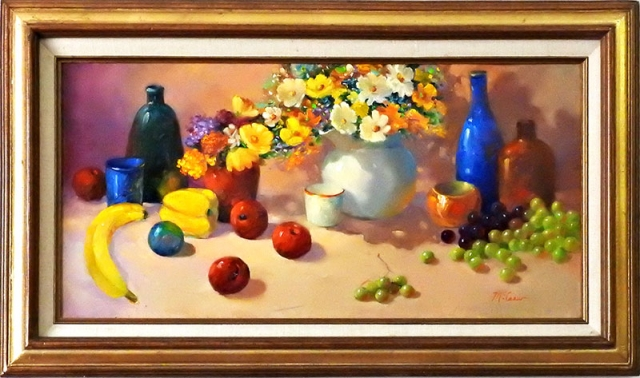 Collection With Fruit by Shirley Peel