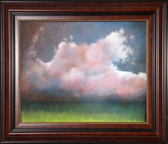 Cloud Study #2  Oil by Amy Faggard