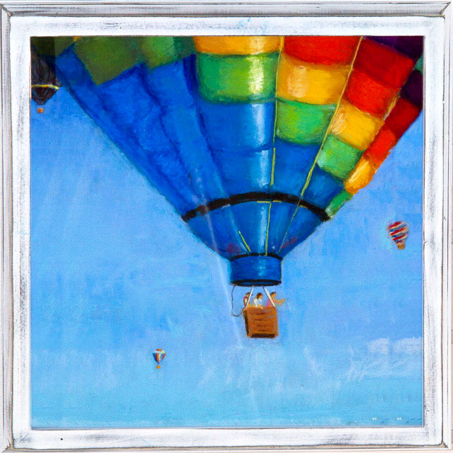 Up and Away -   Pastel by Lynnette Brice