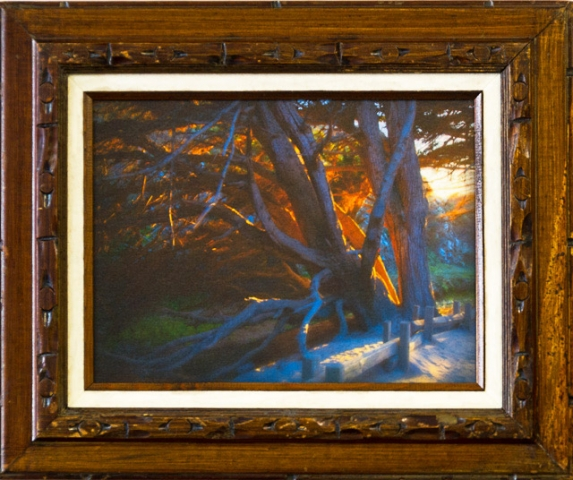 First Place - California Light  by Lisa Richardson, Photograph on Canvas, $200