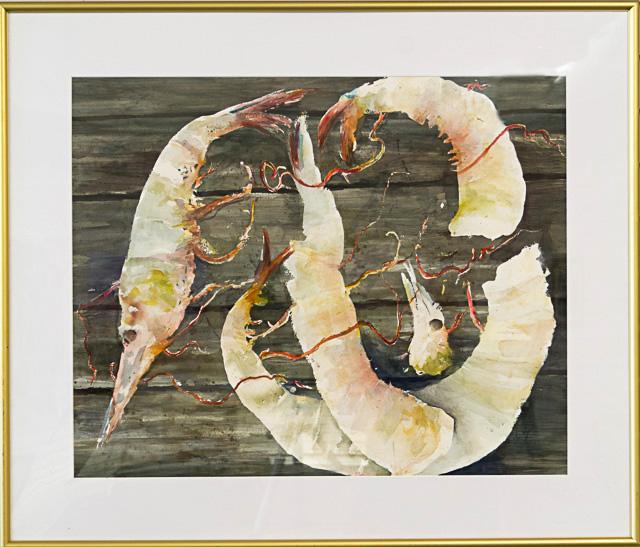 Honorable Mention - Lagniappe by Elaine LeBlanc, Watercolor, $600