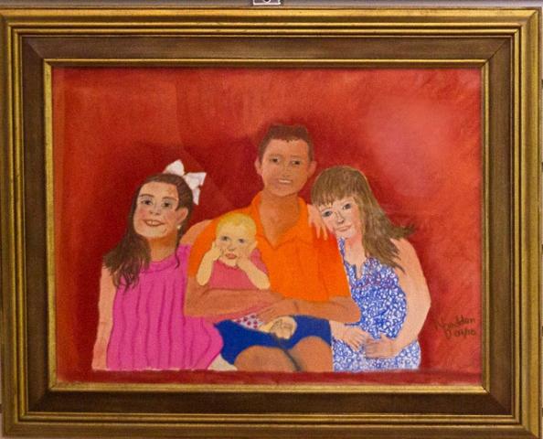Precious Children by Nancy Bodden, Oil, $75