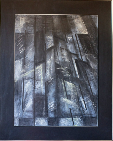 Rays by Danny Clements, Charcoal, $275