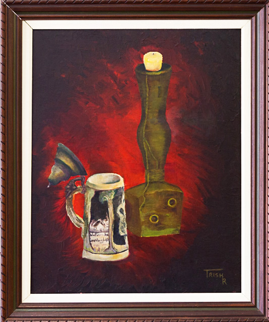 Second Place - Stick and Stein by Trish Ryan, Oil, $300
