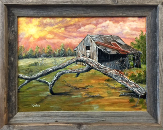 Honorable Mention - After the Storm by Robbie Hanson, Oil, $850