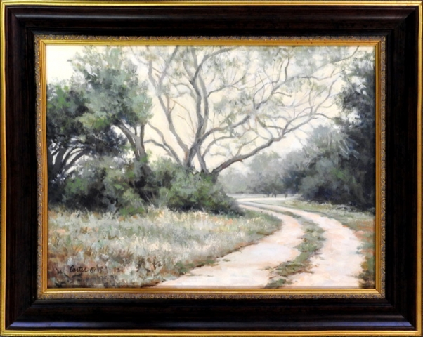 Down the Road 12x16 Watercolor by Calvin Carter, $1,800