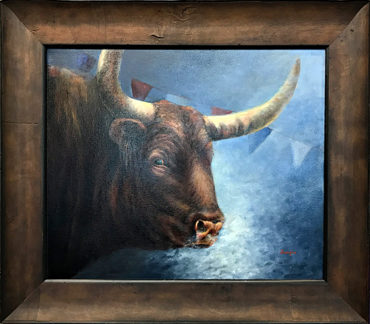 Best In Show - Rodeo Bull by Joyce Renfro