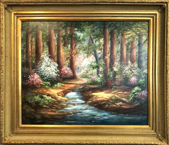 Honorable Mention  Dogwood Trails by Joyce Renfro